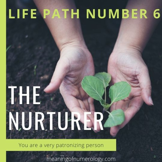 Life path number 6 meaning