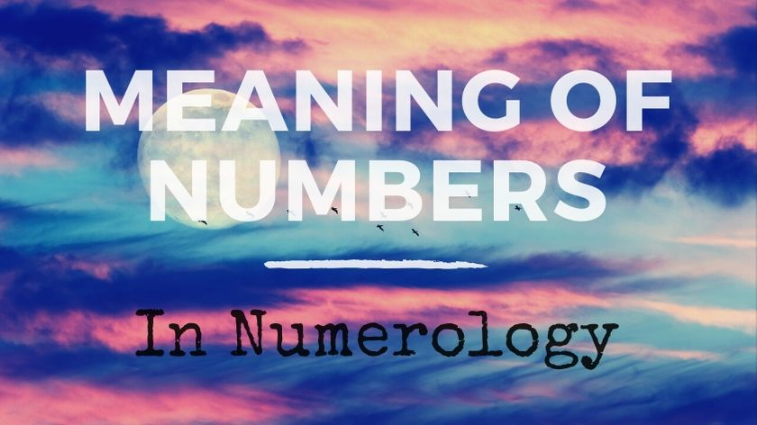 The meaning of numbers in numerology