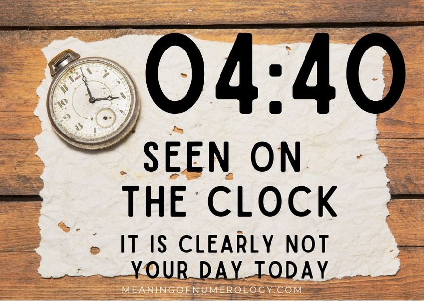 0440 seen on the clock