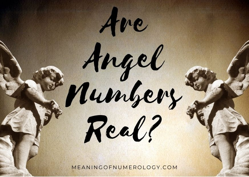 are angel numbers real
