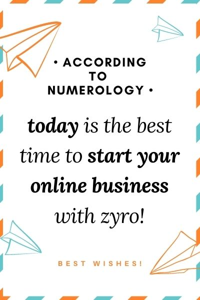 best time to start your online businee with zyro