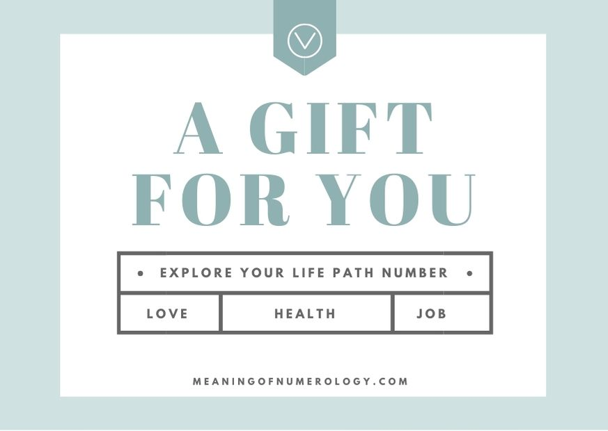 gift for you explore your life path number