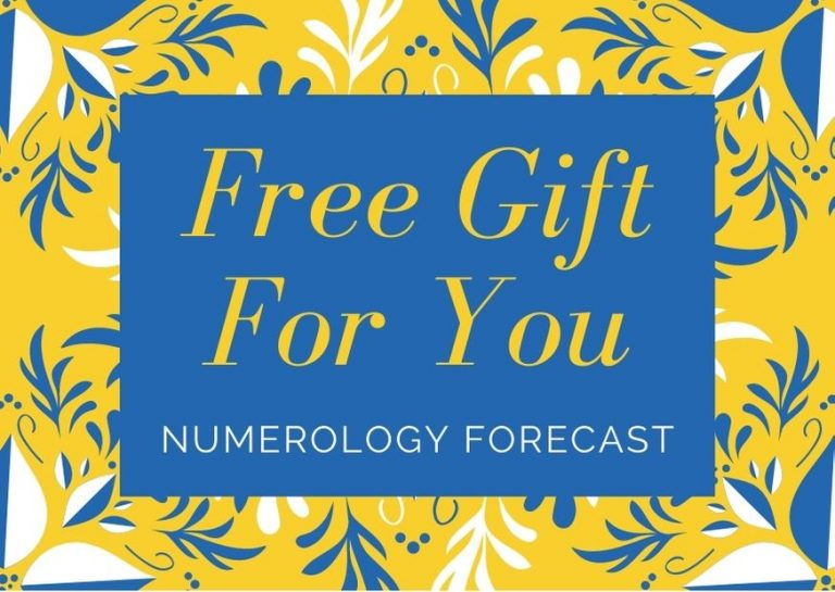 gift for you numerology forecast