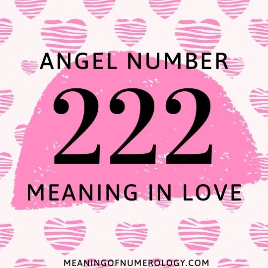 angel number 222 meaning in love