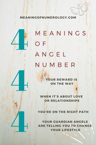 meanings of angel number 444